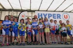 GP Guichen 2014 - Ecoles cyclisme - podium