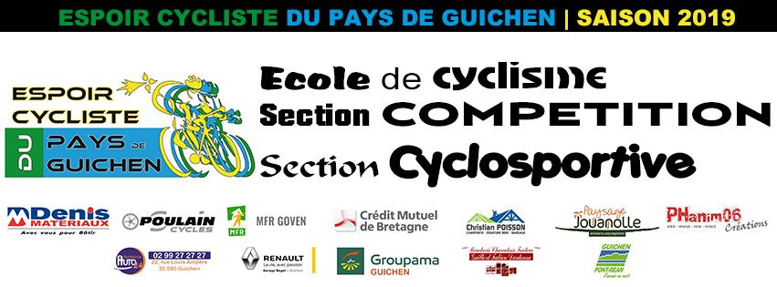 Bretagne Cycliste Calendrier 2020.Espoir Cycliste Du Pays De Guichen Espoir Cycliste Du Pays